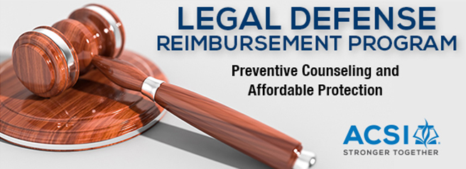 Legal Defense Reimbursement Program